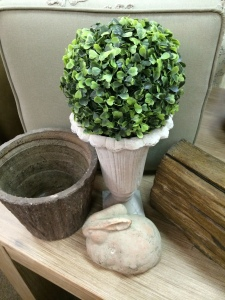 Planters and accessories in all shapes and sizes.
